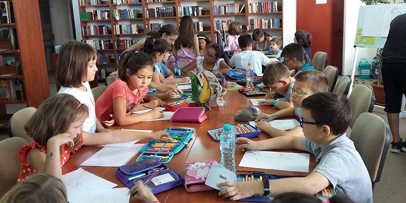 Cunoaștere, creativitate, pasiune și bună dispoziție  Bibliovacanța la Biblioteca Județeană ASTRA Sibiu