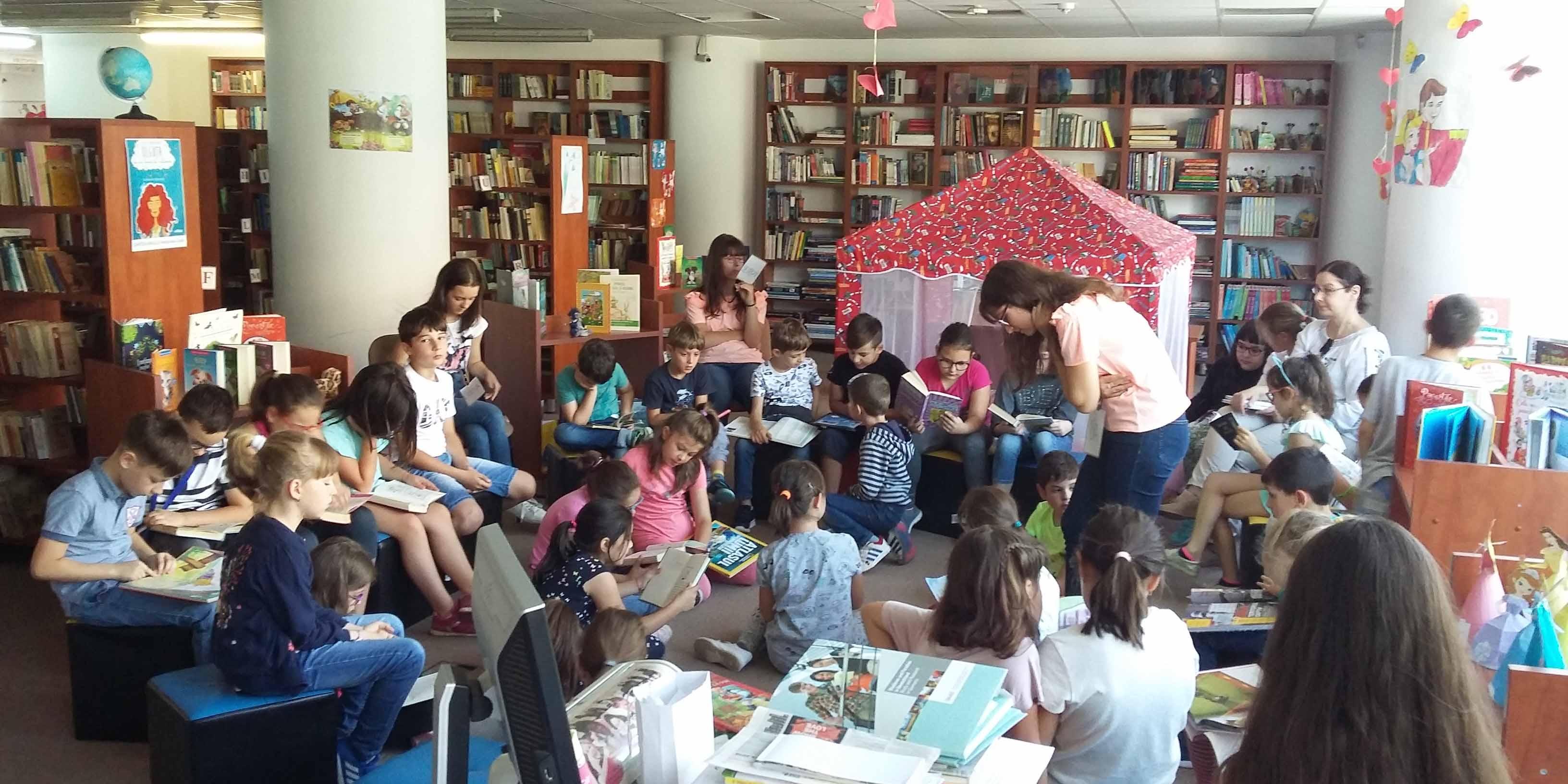 Biblioteca Județeană ASTRA Sibiu – Atelierele de vacanță, la final