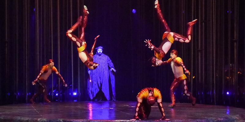 """O săptămână până la """"VAREKAI"""" - spectacolul cirque du Soleil de la București"""