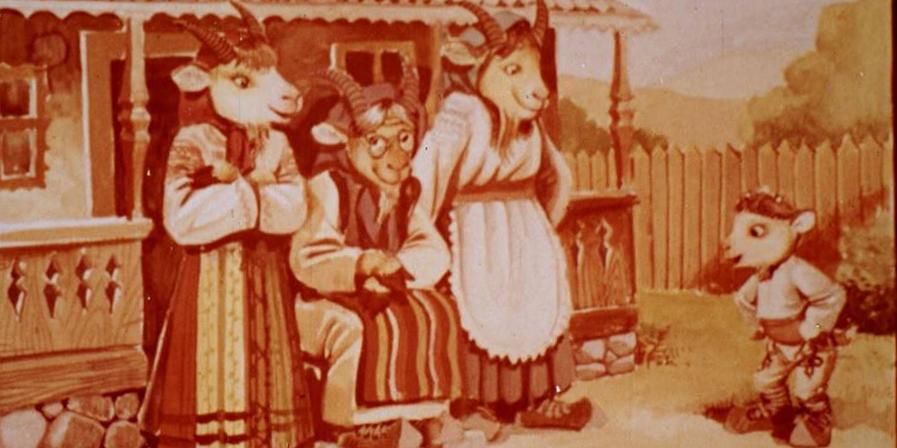 Povești proiectate de pe diafilme în Muzeul în Aer Liber