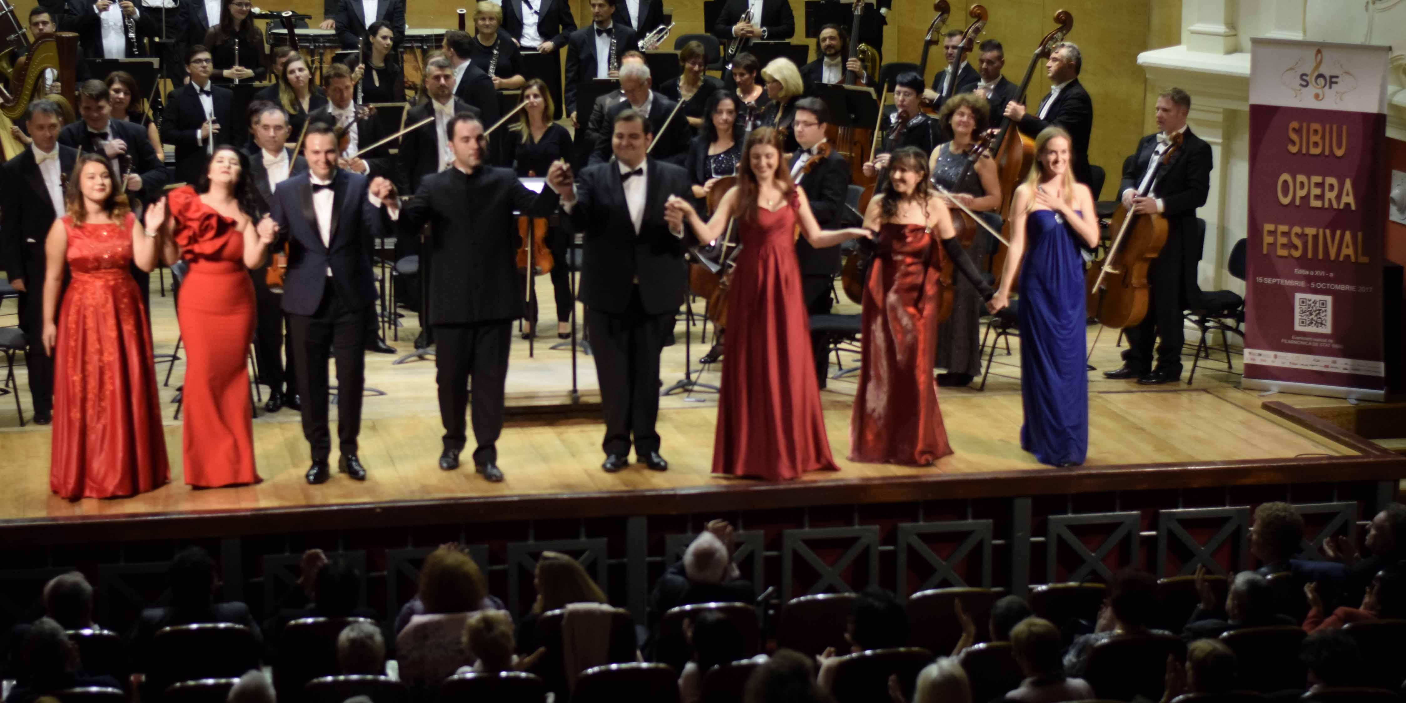 Sibiu Opera Festival. Peste 4.000 de spectatori la ediția din acest an