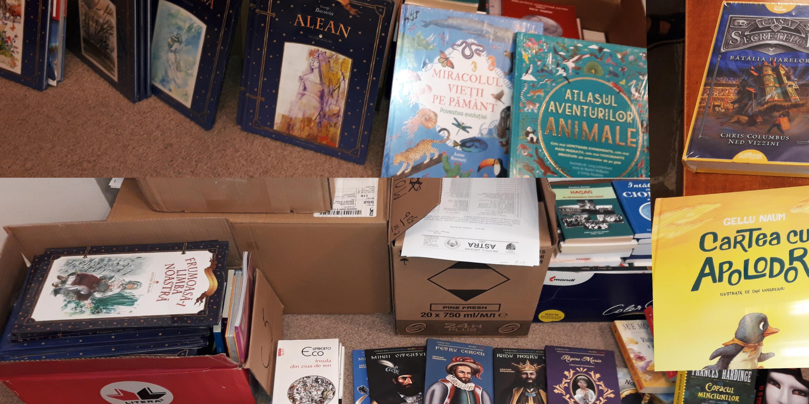 Biblioteca ASTRA susține cultura română peste hotare
