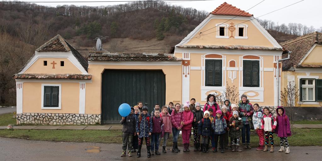 """Proiect de implicare culturală, educațională și socială: """"Asta știu eu despre satul meu!"""""""