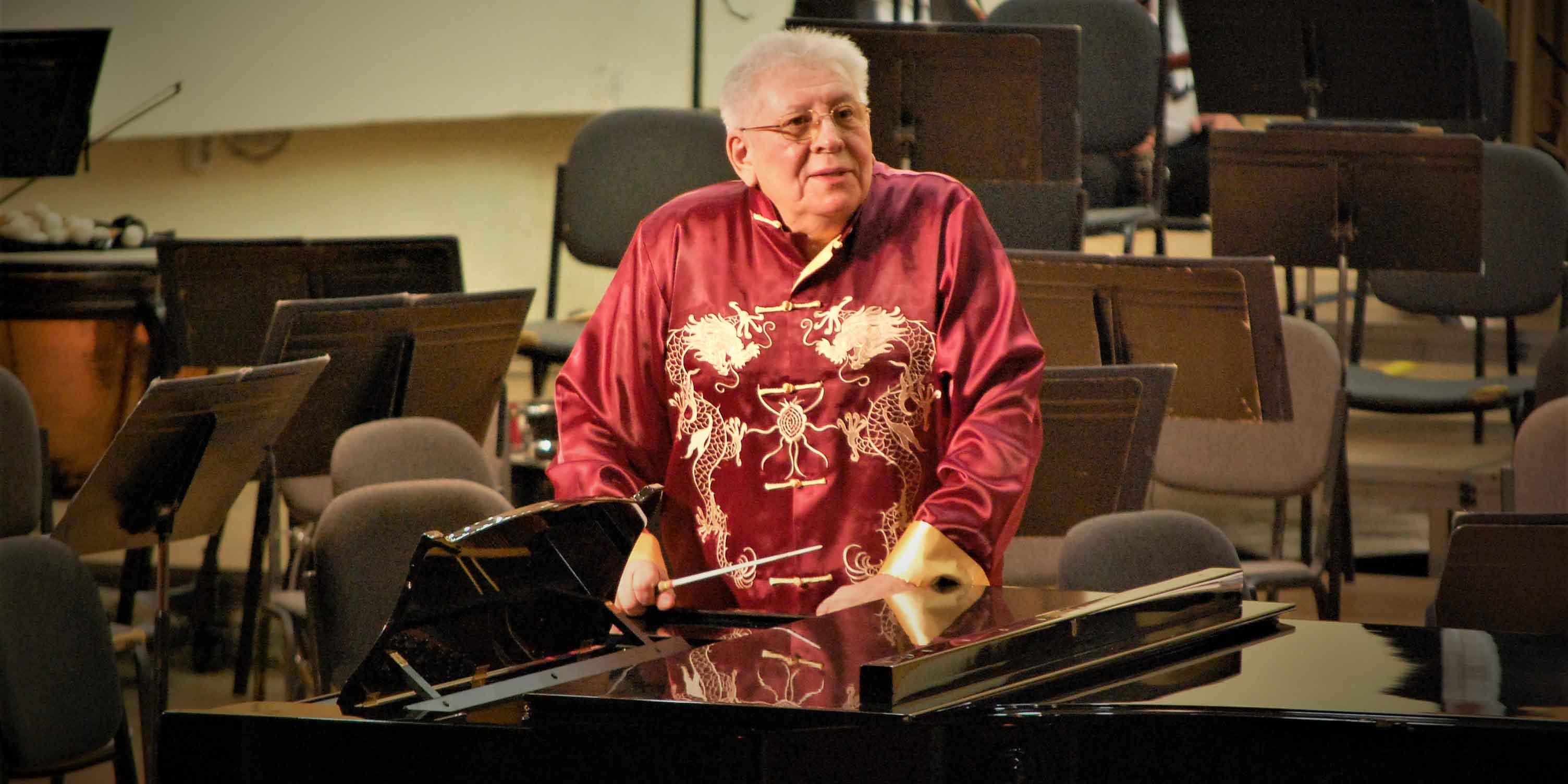 Maestrul Ilarion Ionescu-Galați aniversat la Filarmonica de Stat Sibiu