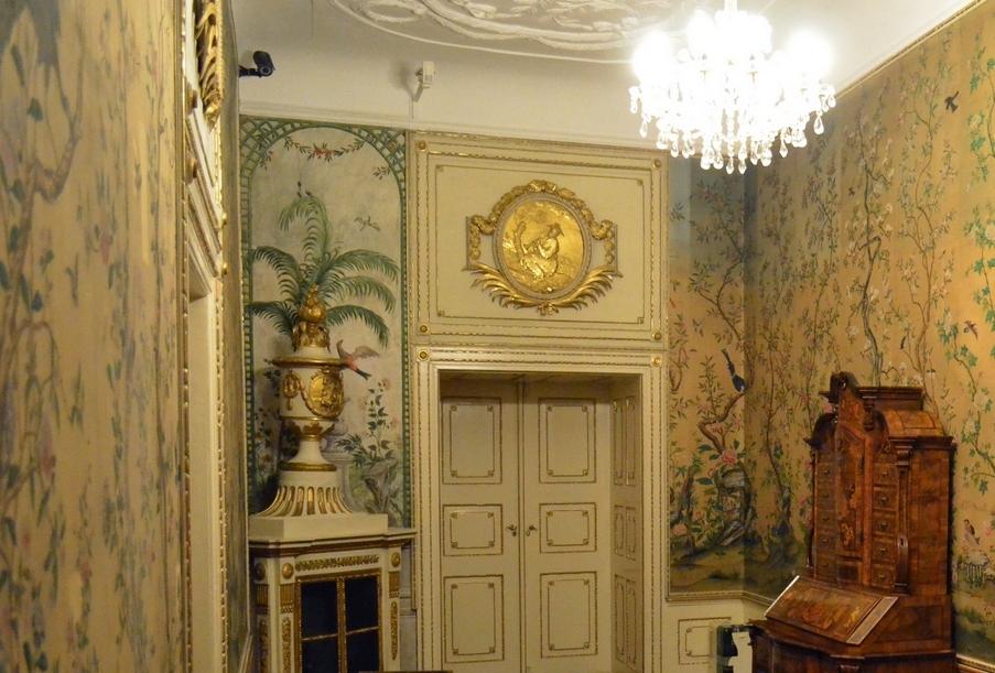 Palatul Brukenthal - Salonul oriental din aripa de nord