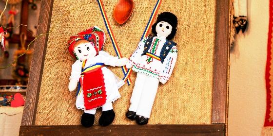 Dragobetele - sărbătorit în Muzeul în aer liber din Dumbrava Sibiului