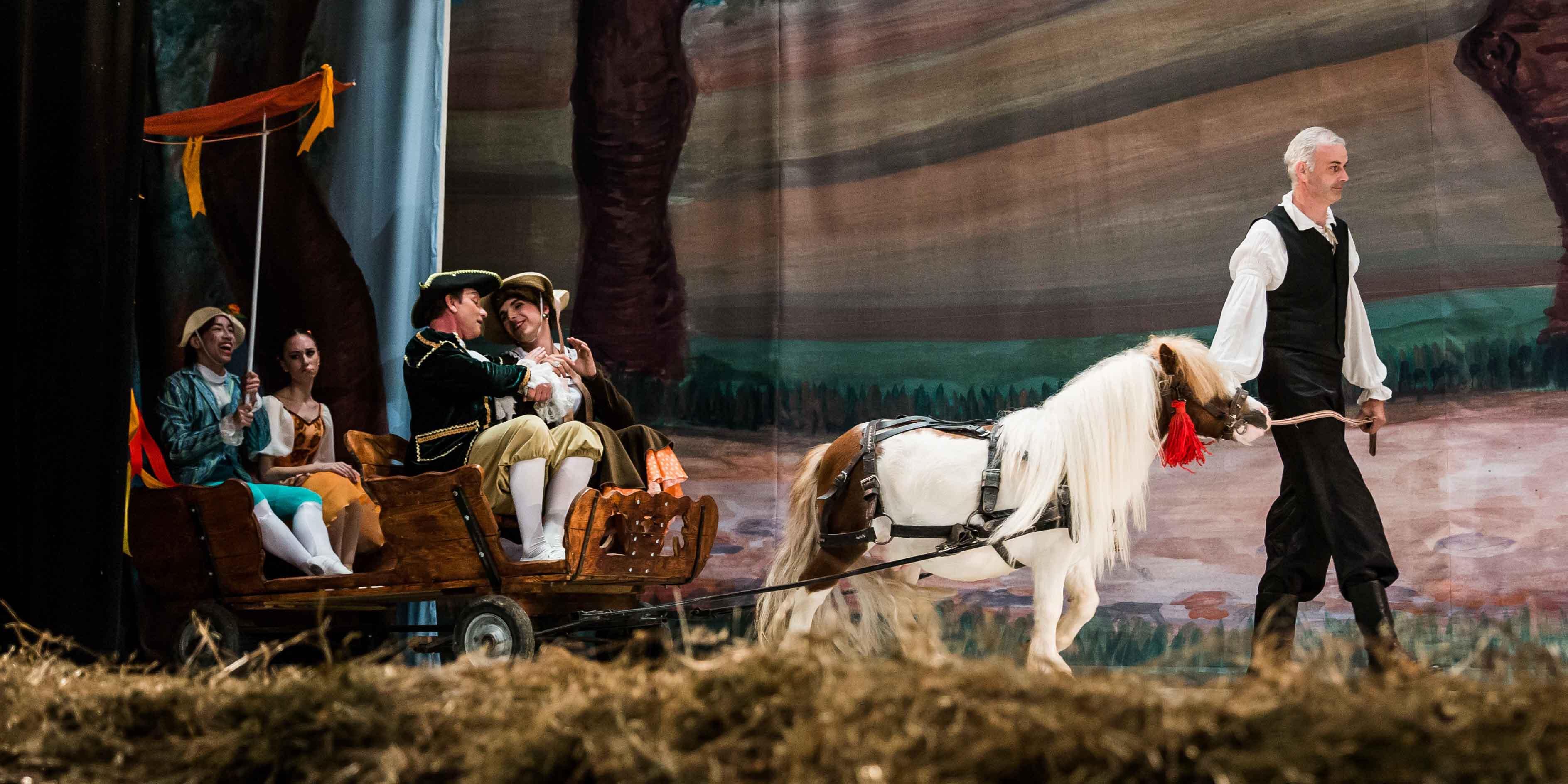 """Baletul comic în două acte """"La fille mal gardée"""" productia TBS, in 10 martie la Sibiu"""