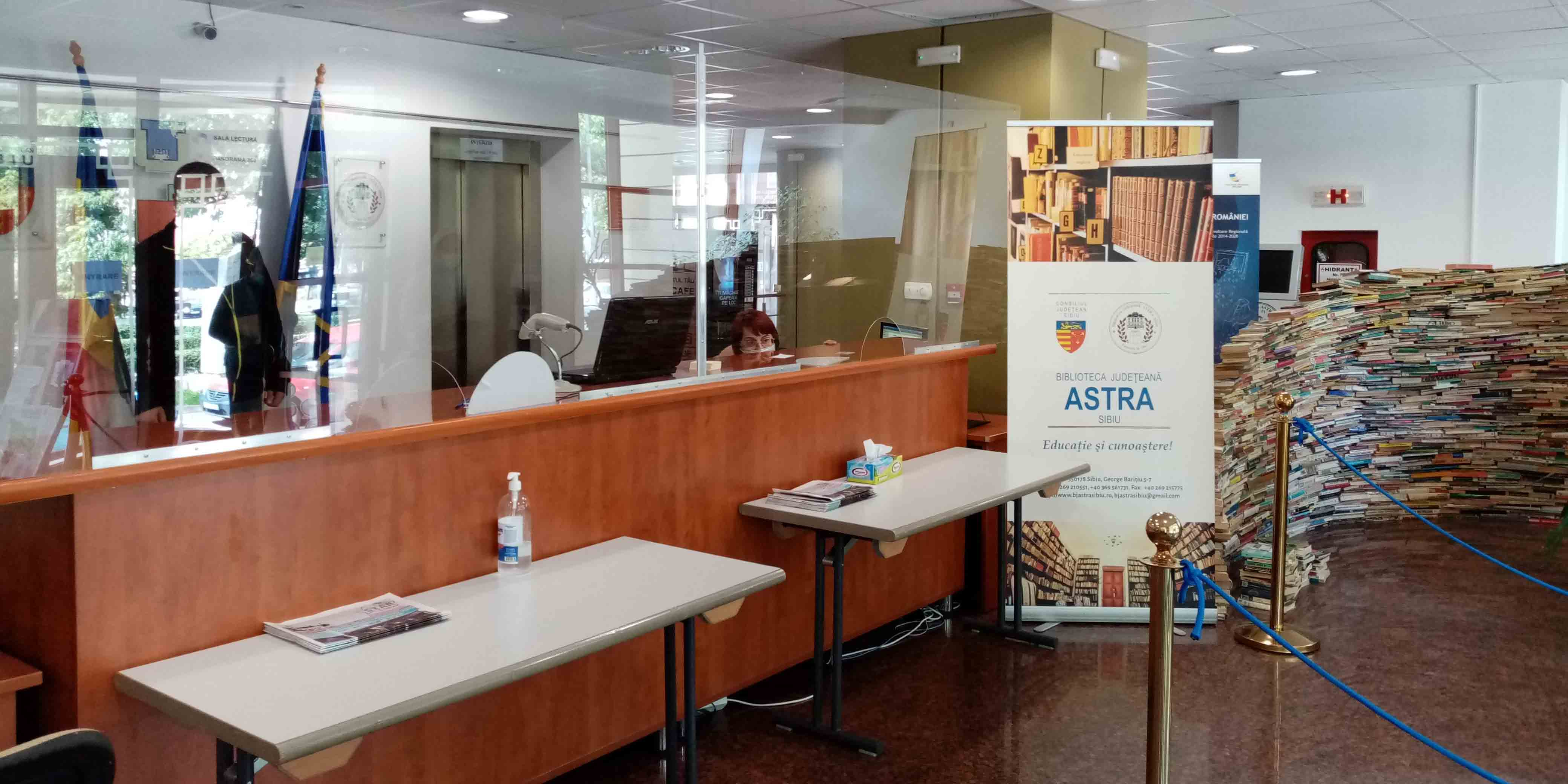 Măsuri și condiții de siguranță la Biblioteca ASTRA Sibiu