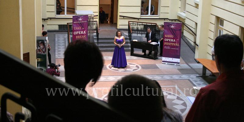 "Sibiu Opera Festival: program ""Take an Opera Break"""