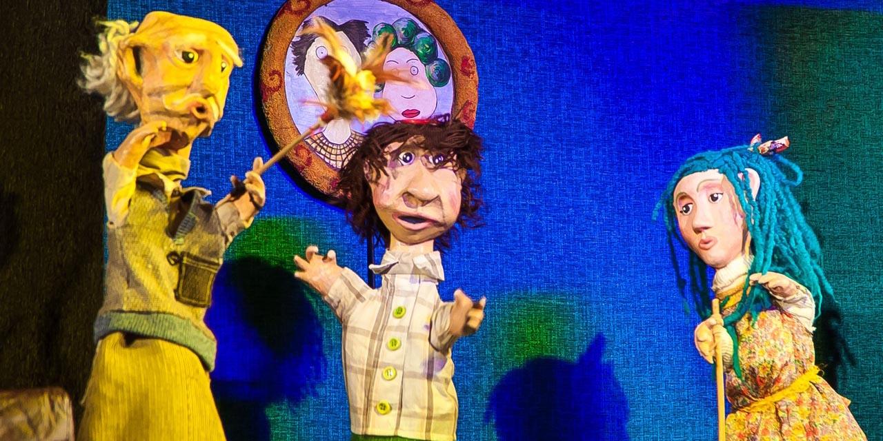 Teatru cu păpuși din Argentina și Chile în premieră la Gong!