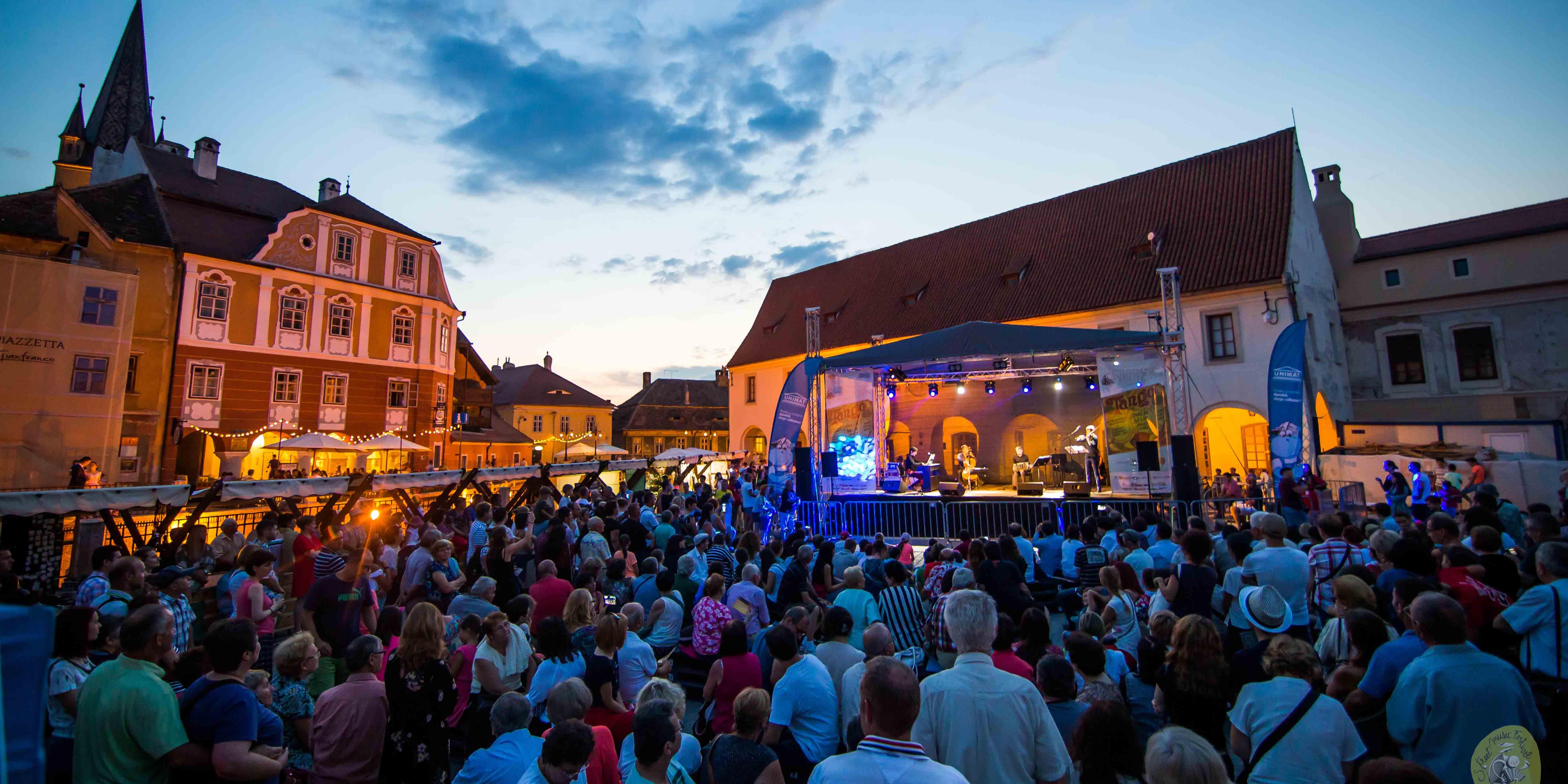 Muzică clasică, teatru muzical, jazz și muzică balcanică la STREET MUSIC FESTIVAL