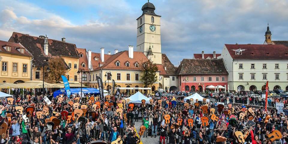 Sibiu Guitar Meeting se transformă într-un festival internațional de trei zile