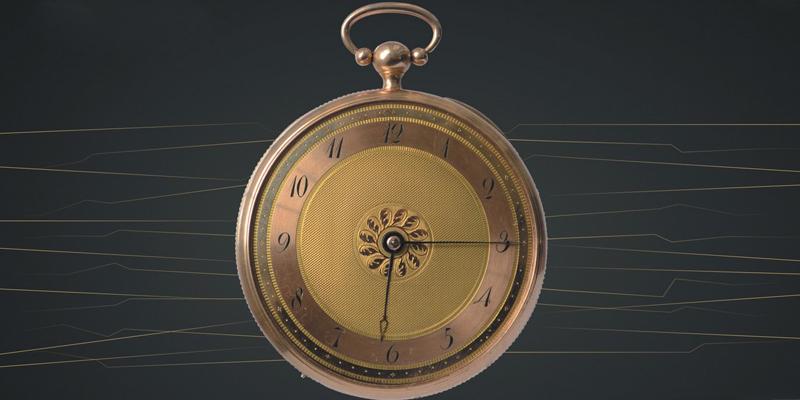 Ceasul de buzunar al baronului Brukenthal expus la Sibiu