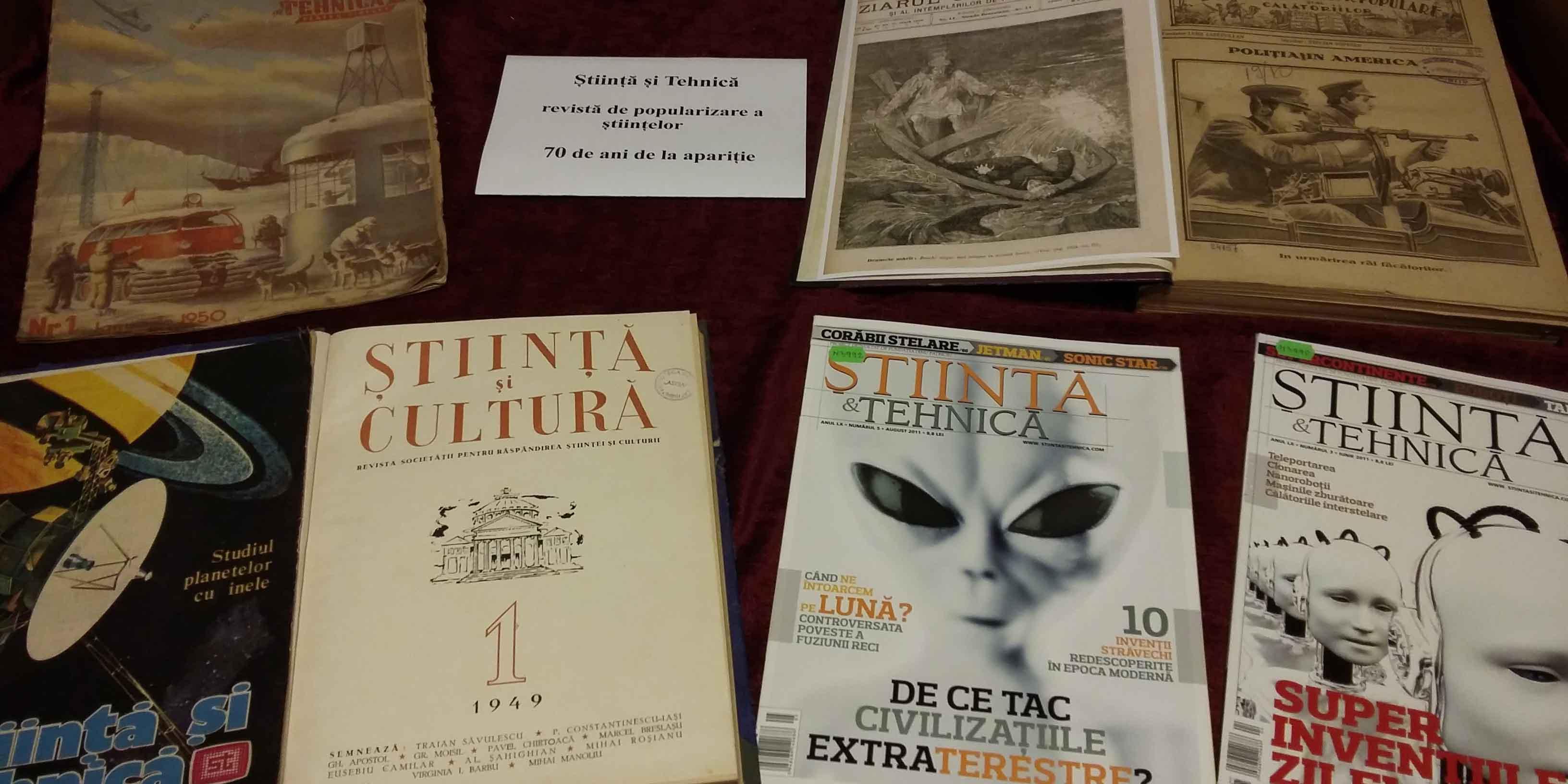 Expozitie: Revista Știință și Tehnică: 70 de ani de la apariție