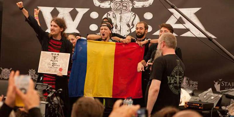 Formaţia sibiană E-an-na - locul II în finala internaţională Wacken Metal Battle
