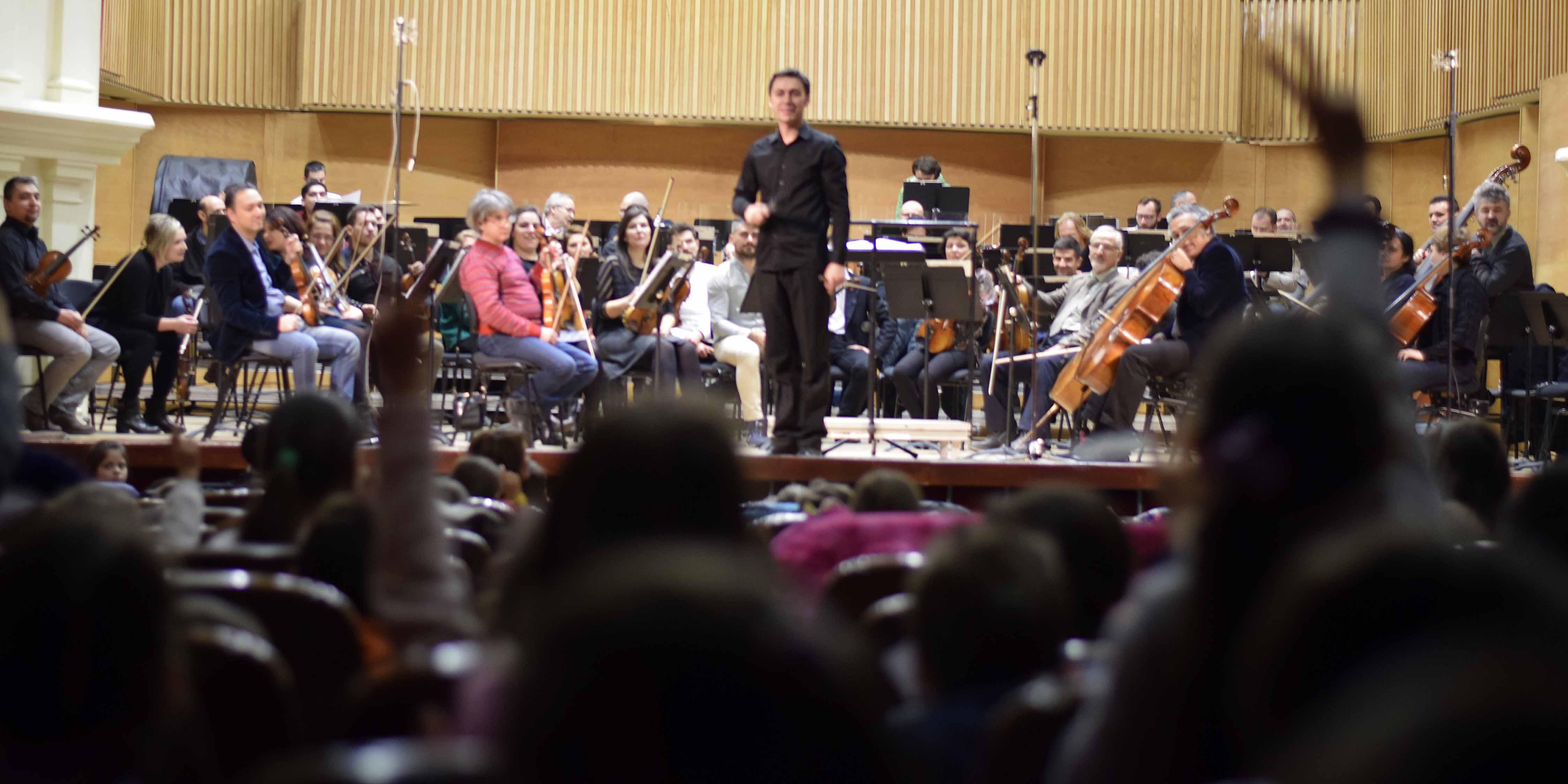 Concerte educative cu Orchestra Filarmonicii de Stat Sibiu
