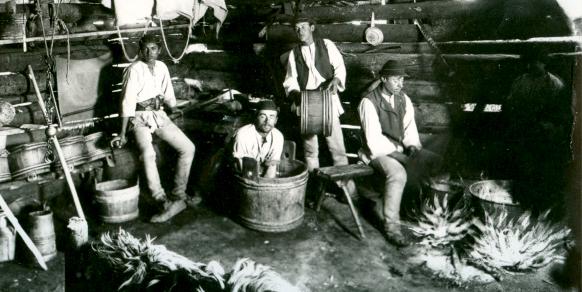 """""""De la lapte la jintiţă"""" - târg de produse tradiționale cu demonstrații live în Muzeul în Aer Liber"""